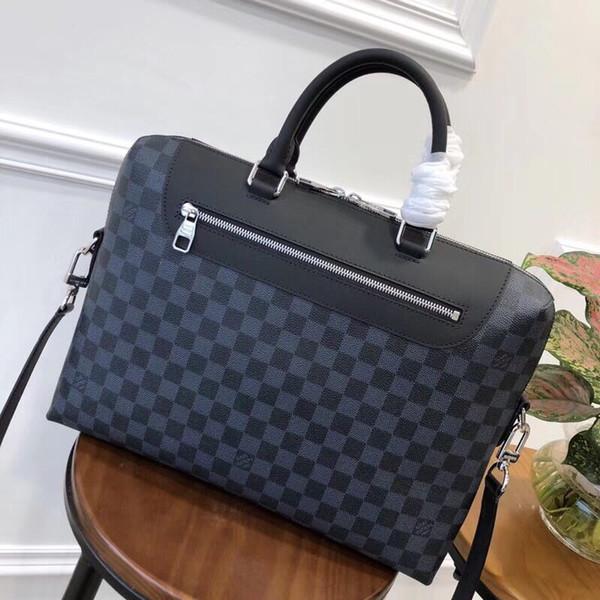 Moda womenmen migliori signore spalla Bauletto Tote della borsa del messaggero di Crossbody Handbagt portafoglio portafoglio nuovo classico N48260 36..28..7cm