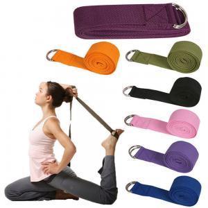 Sport Yoga Stretch Strap Gym Taille Bein Fitness Verstellbarer Gürtel D-Ring Gürtel Übung Seil Lange Widerstand Band LLA101