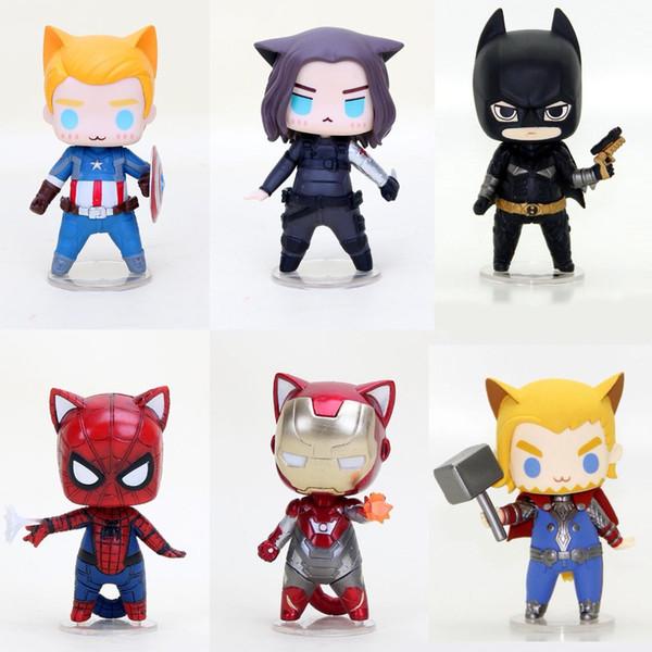 Avengers luminosa a LED e suoni Martello di Thor Maschera Casco Bambini Cosplay Toys