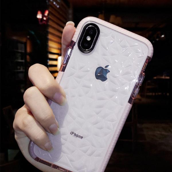 Funda de teléfono, Funda de teléfono de Apple para teléfono inteligente iPhone Xs Max / Xs / Xr / 8/7 Plus Funda de silicona Suave todo incluido Anti-caída, blanco