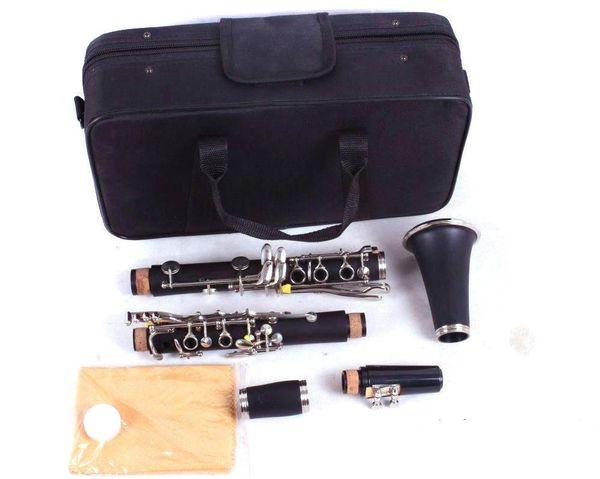 Новый кларнет эбонит дерево Bb ключ 17 ключей хороший звук никелированный