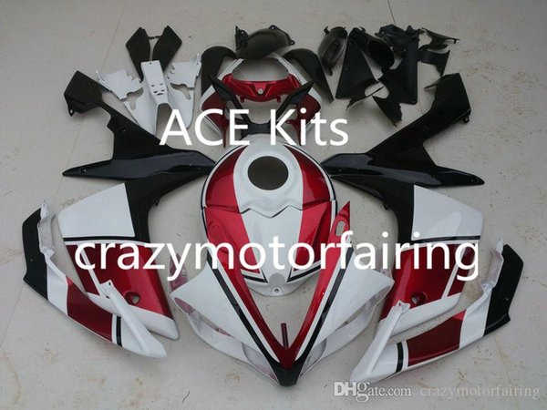 3 gifts New Injection ABS Fairing kits 100% Fit for YAMAHA YZFR1 07-08 YZF R1 2007-2008 YZF1000 bodywork Blue White AP4