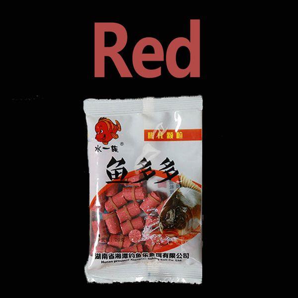 Red random shape