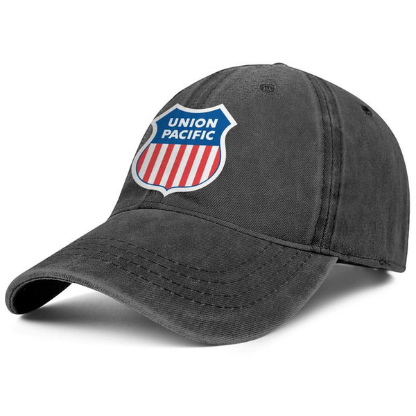 buy popular 1fd0f 7f4f6 Union Pacific Railroad black mens and womens Denim Cap trucker cap ball  styles designer uk hats