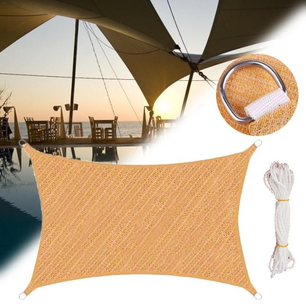 Outdoor Awning Sun Block Awning PE Sun Shade Garden Patio Swimming Pool  Outdoor Camping Picnic Accessories Protection Pet Shelters Near Me Puppy ...