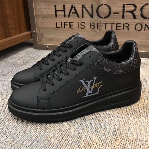 L'arrivée de nouveaux hommes chaussures Zapatos de para hombre moda Fashion Design Chaussures à lacets légers Taille Plus Sport Hommes Casual Shoes Drop Ship