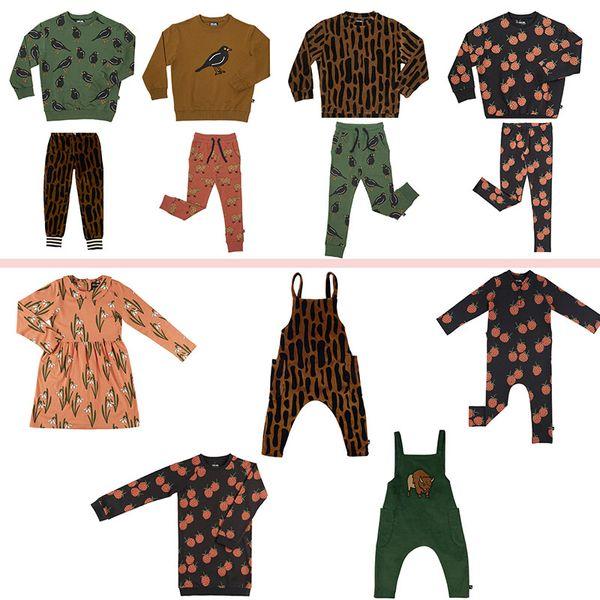 CarlijnQ enfant en bas âge Garçons Filles Sweat Sarouel Vêtements enfants Marque Vêtements Mode Automne Hiver Sweats bébé Enfants Hauts V191118