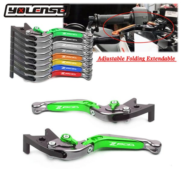 best selling For Z 800 Z800 E version 2013 2014 2015 2016 Motorcycle Accessories Adjustable Folding Extendable Brake Clutch Levers
