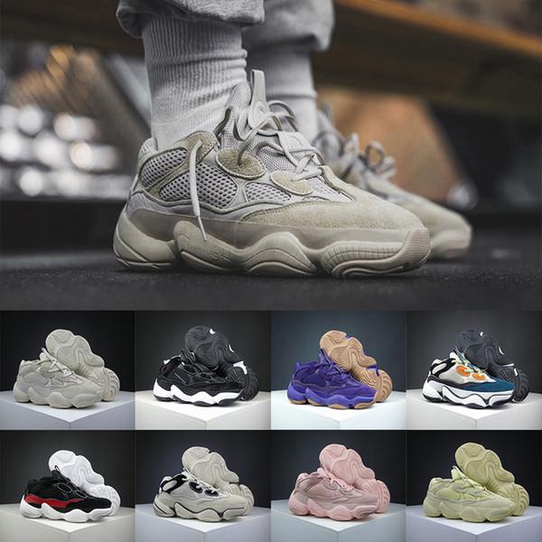 Calzados Para De Onda Kanye West La Amarillas Corredor 500 Súper Sal 2020 Nueva Zapatos La De Desert Compre Blush Rat Informales Luna 500 Hombre XOkZuiPT
