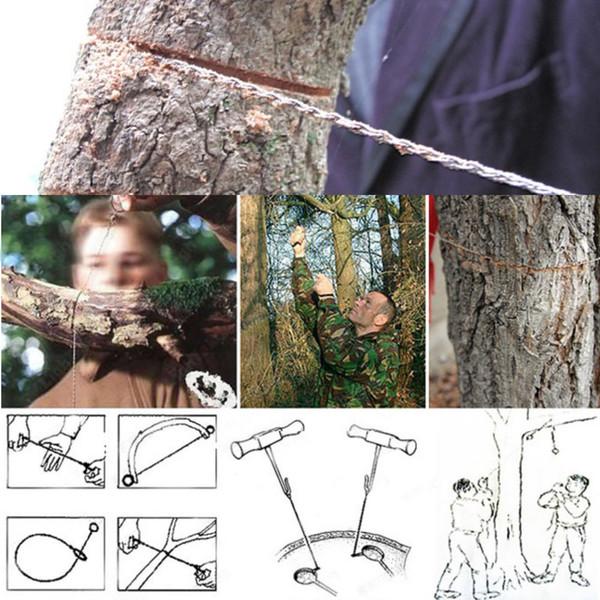 Folding 54cm Gear Pocket Chain Saw Hand Tool For Wood Bone Metal Cuter Survival