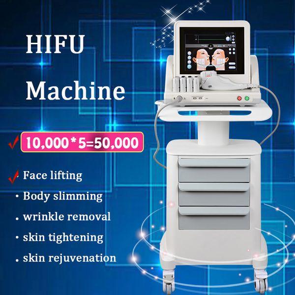 Portable HIFU Machine High Intensity Focused Ultrasound Face Lifting machine HIFU Beauty Equipment for Spa or Personal Use skin care machine