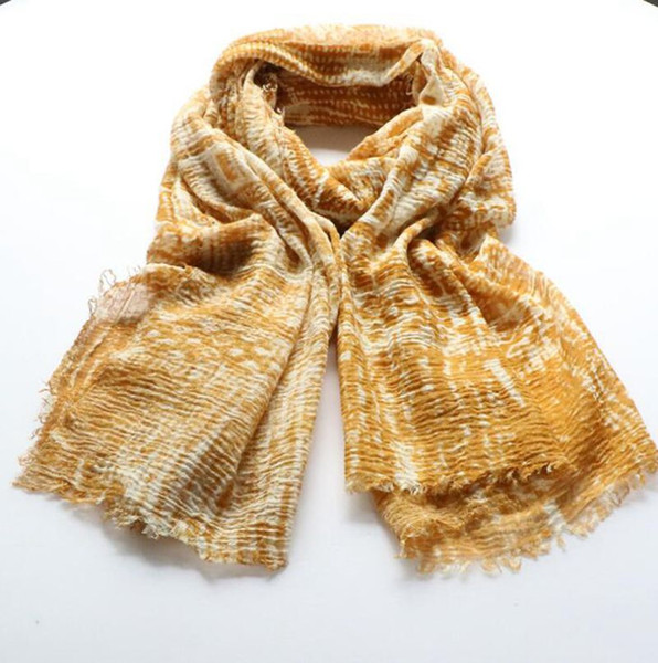 Vintage Ethnic Style Cotton and Linen Wrap Scarves For Women 2019 New Printed Autumn Winter Beach Scarf