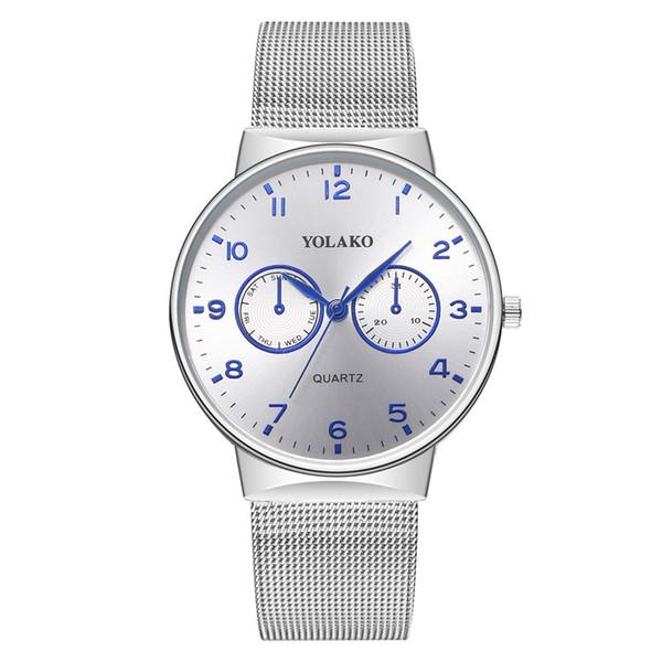 2019 Relogio masculino Mens Relógios Top Marca de Luxo Ultra-fino Relógio de Pulso Dos Homens Relógio dos homens Relógio reloj hombre KK40