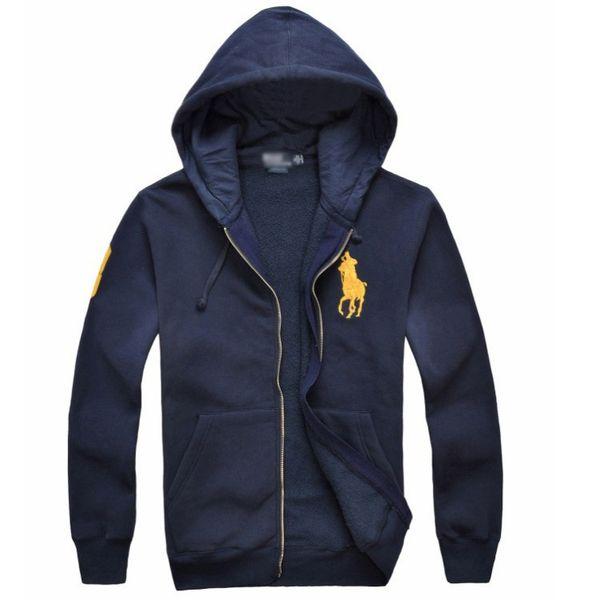 2019 nuove giacche da uomo vendita calda Big Horse polo Felpe con cappuccio e felpe autunno inverno casual con cappuccio sportivo felpe con cappuccio da uomo