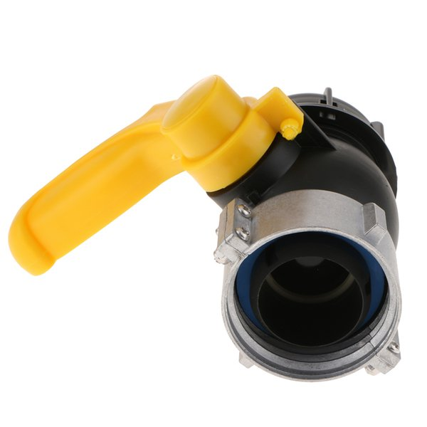 best selling IBC Tote Tank Drain Adapter Garden Hose Fitting Ball Value 75mm To 2