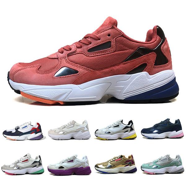 Hombres Zapatillas Falcon Casuales De Adidas Mujeres Compre Originales Zapatos De W Zapatos 2019 Deportivas Para Alta Papá Diseño Calidad De Para PwN0Ok8nX