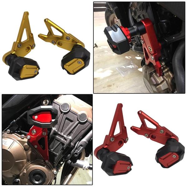 Moto CNC CB CBR 650R 650F Protection moteur chute accident de protection pour cadre curseur CB650F CBR650F CB650R CBR650R