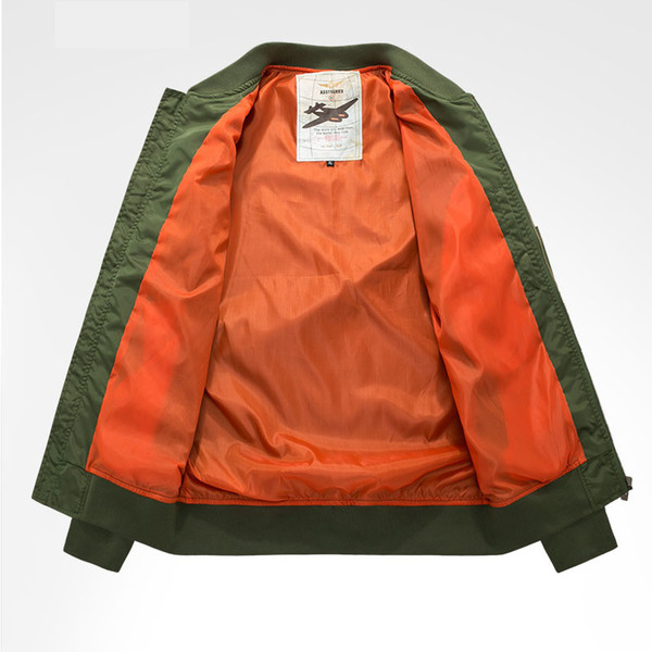 Mens Designer Jackets Fashion NASA Rocket Embroidery Badge Thin Coat Luxury Mens Clothes Casual Trendy Printing Pilot Jacket GentlemaTees 19