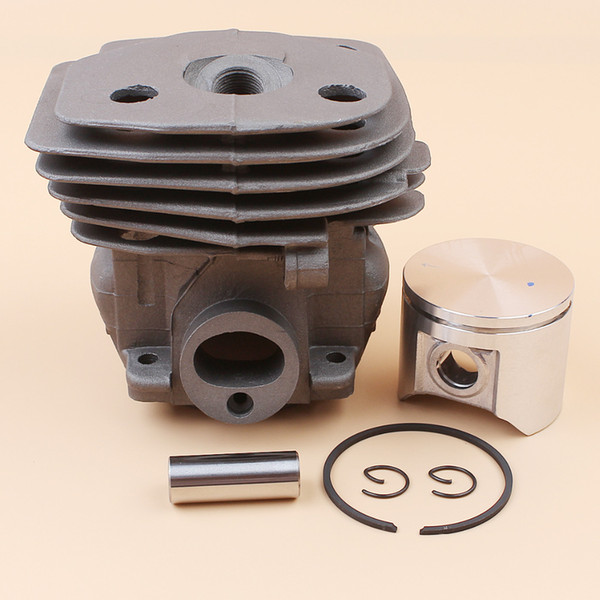 Garden Power Tools Grass Trimmer 47mm Cylinder Head Piston Kit For HUSQVARNA 359 357 XP 357XP Chainsaw Engine Motor Parts 537 15 73-02