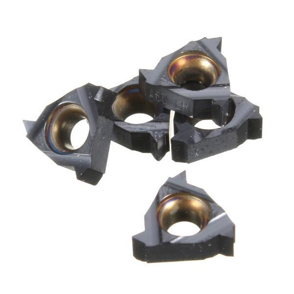 10pcs 11ER A60 Carbide Inserts External Thread Turning Tool Holder Inserts External CNC Blade
