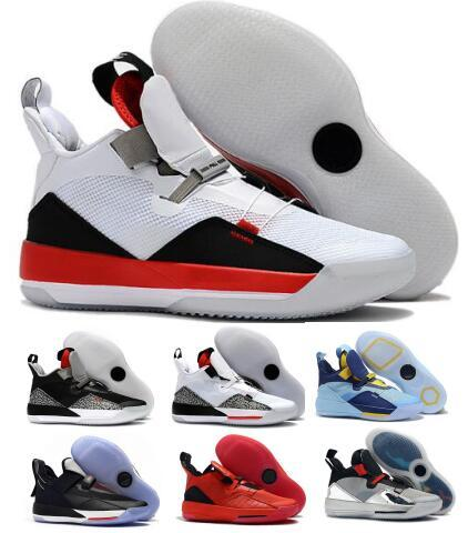 Classic 33 33s Basketball Shoes Sneakers Mens 2019 New Yellow Cement PF Future Of Flight Guo Ailun Chinese New Year XXXIII Baskets Shoes
