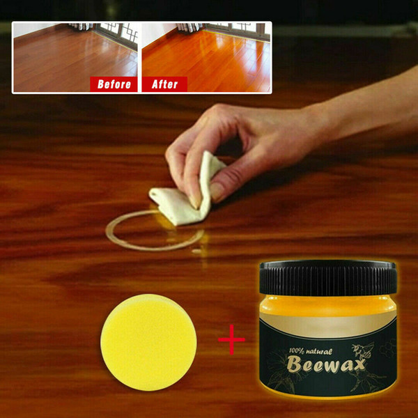 top popular Wood Seasoning Beewax Complete Furniture Solution Care Polish Beeswax Paste 2020 2021