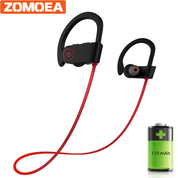 Fones de ouvido bluetooth ipx6 fone de ouvido sem fio à prova d 'água esportes fone de ouvido baixo com fones de ouvido mic para telefone iphone xiaomi fone de ouvido
