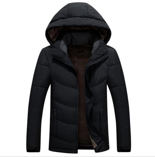 Top Quality Winter men Down Hoodies NORTH Jackets Camping Windproof Ski Warm Down Coat Outdoor Casual Hooded Sportswear FACE COAT 9019