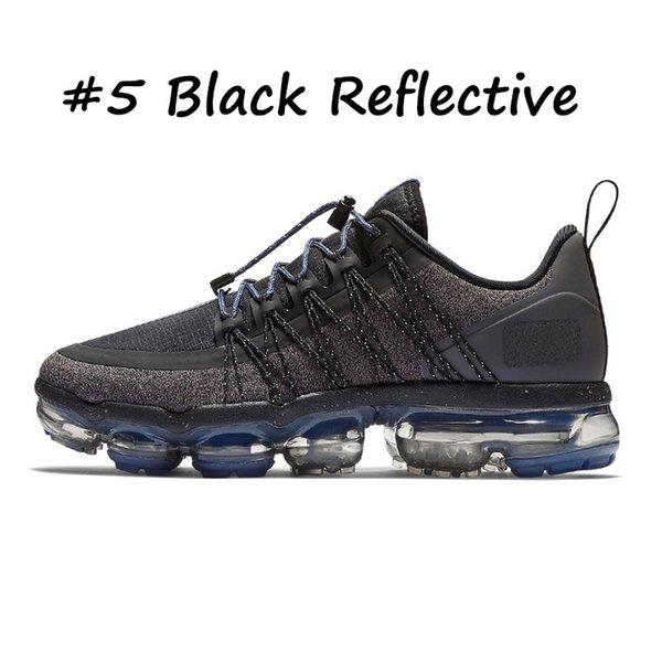 5 Black Reflective