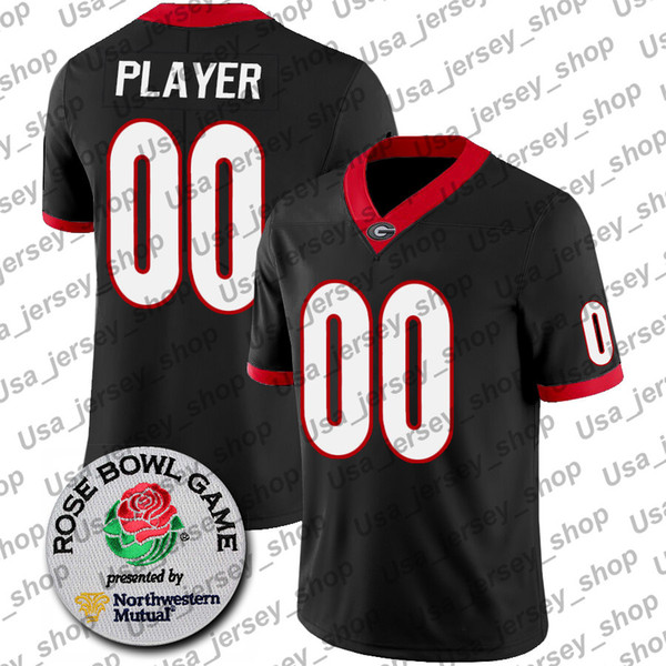 Black + Rose Bowl Patch
