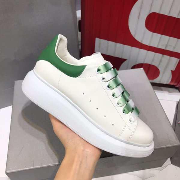 Fashion luxury Designer Man Woman Casual Shoes Genuine Leather Mesh Race Runner Shoes Outdoors Trainers yd19062212