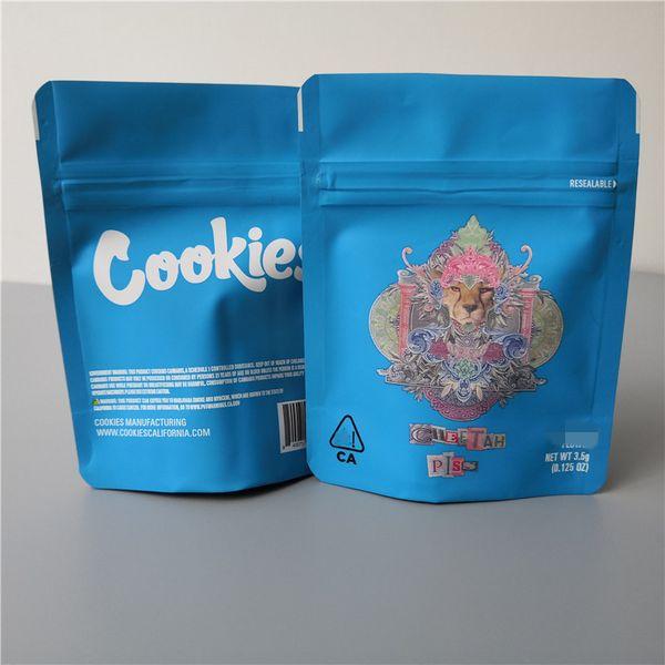 Cheetah piss cookies bag