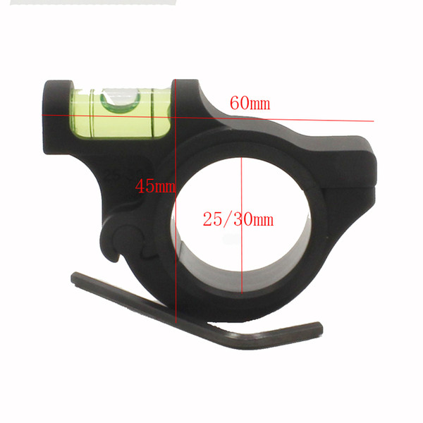High Quality 25.4mm/30mm Ring Mount Holder Aircraft Aluminum Rifle Scope Bubble Spirit Level Hunting Gun Accessories