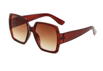 Occhiali da sole stile pilota Occhiali da sole firmati per uomo Donne telaio in metallo Occhiali con lenti a specchio in vetro Occhiali da sole moda Occhiali da sole fashion designer