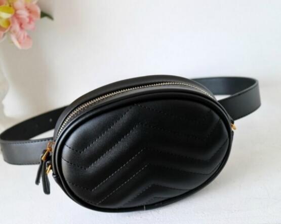Женские фирменные карманные брендовые роскошные сумки на ремне, модная кожаная сумка Сумка, сундук, кошелек, талия Сумки 18 * 11 * 5 см