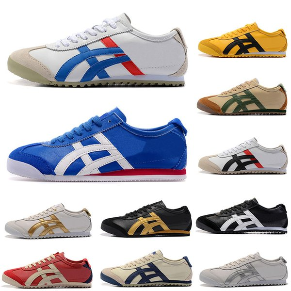 timeless design b6b01 a5bc7 2019 2019 Fashion Onitsuka Tiger Athletic Shoes For Men Women Outdoor Boots  Black White Sports Mens Trainers Sneakers Designer Shoe Size 36 44 From ...