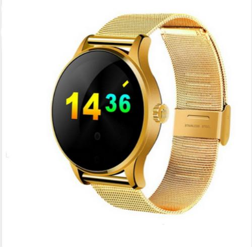 K88H Smart Watch HD Display Heart Rate Monitor Pedometer Fitness Tracker MTK2502C Men Smartwatch Connected For Android I/OS