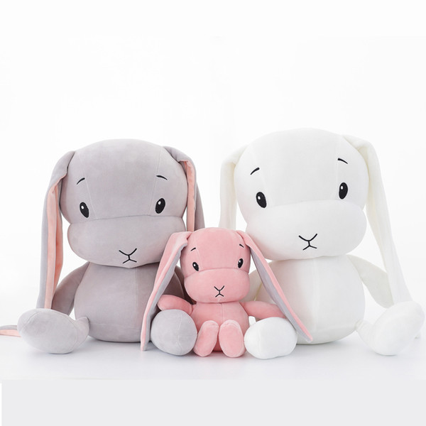 Cheap Stuffed & Plush Animals lucky boy sunday cute bunny rabbit doll soft plush toys for small children toys animals on the