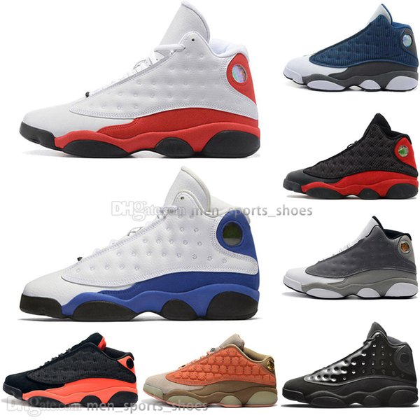 Best Quality 13 13s Cap And Gown Terracotta Blush Mens Basketball Shoes Brown Hyper Royal Flints Bred Men Sports Sneakers Designer Outdoor