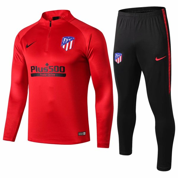 best selling top quality new 18 19 Atletico Madrid tracksuits Costa Hernandez jacket jersey 2019 home away soccer Griezmann training suits