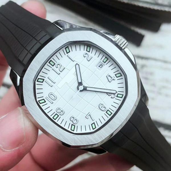 2019 Наручные часы Aquanaut 5167 Автоматическое движение из нержавеющей стали Удобный резиновый ремешок Оригинальная застежка Мужские часы Роскошные часы BDFL