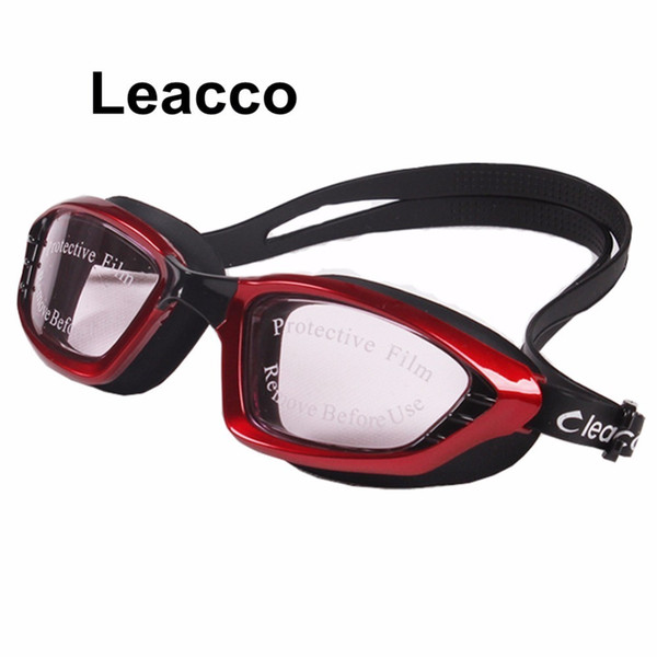 best selling 2019 New 5 Colors Men Women Professional Electroplate Waterproof Swim Glasses Anti Fog Uv Protection Swimming Goggles