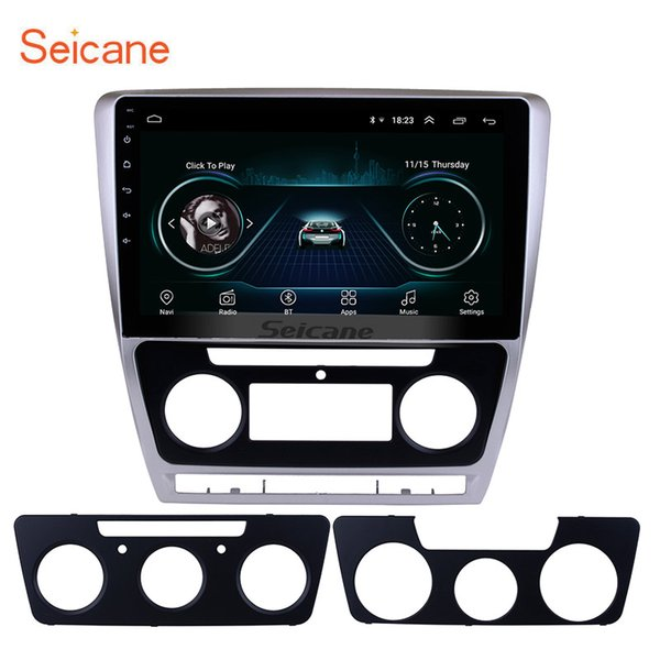 HD Touch Screen 10.1 inch Android 8.1 Car Multimedia Player for 2007-2014 SKODA Octavia with GPS Navi Mirror Link support DVR