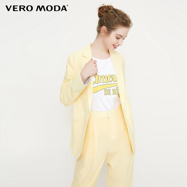 Vero Moda new lapel one-button blazer |318208527