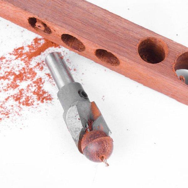 mango hexagonal, herramienta de corte de madera, herramienta de corte de madera para taladro el/éctrico, para familia, camping o granja BHAIR5 Broca para le/ña