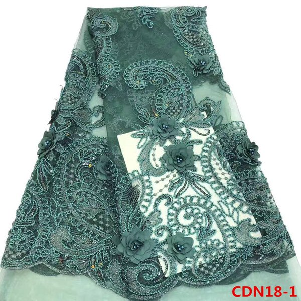 Fast shipping hand cut french net lace fabric african cheapest french lace fabric with sequins