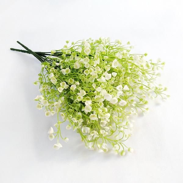 Elegant Artificial Fake Silk Flowers Bridal Bridesmaid Flower Bouquet Plant Home Wedding Decoration Artificial