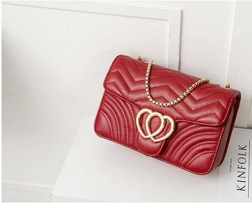 2021 Fashion Model Women Bags Luxury Chain Crossbody Travel Make-up Bag Handbags Famous Designer Purse High Quality Female Message Bag