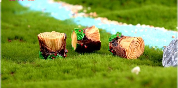 Awe Inspiring 2019 Miniature Stump Stool Fairy Garden Accessory Decorated With Green Leaves Dollhouse Moss Terrarium Decoration Handmade Resin Craft W9765 From Pabps2019 Chair Design Images Pabps2019Com
