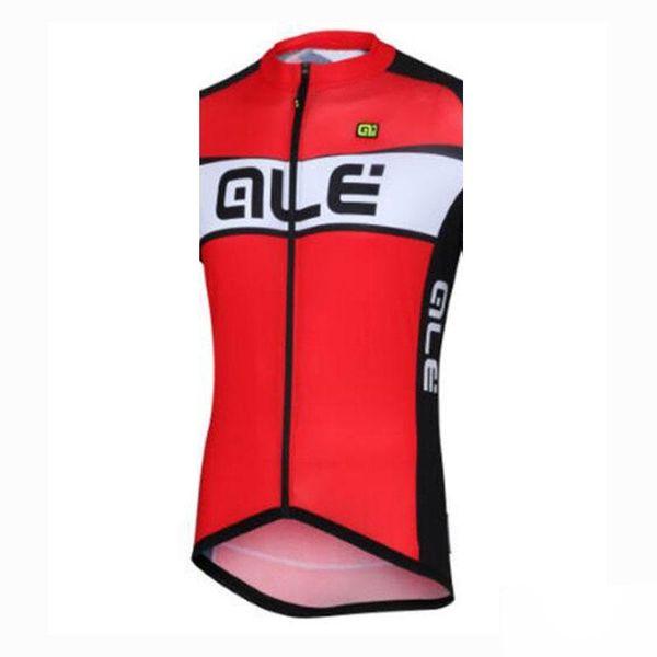 2019 ALE Radweste Atmungsaktive, schnell trocknende MTB-Fahrradbekleidung Radtrikot, ärmellos Sportbekleidung Ropa Ciclismo A32132